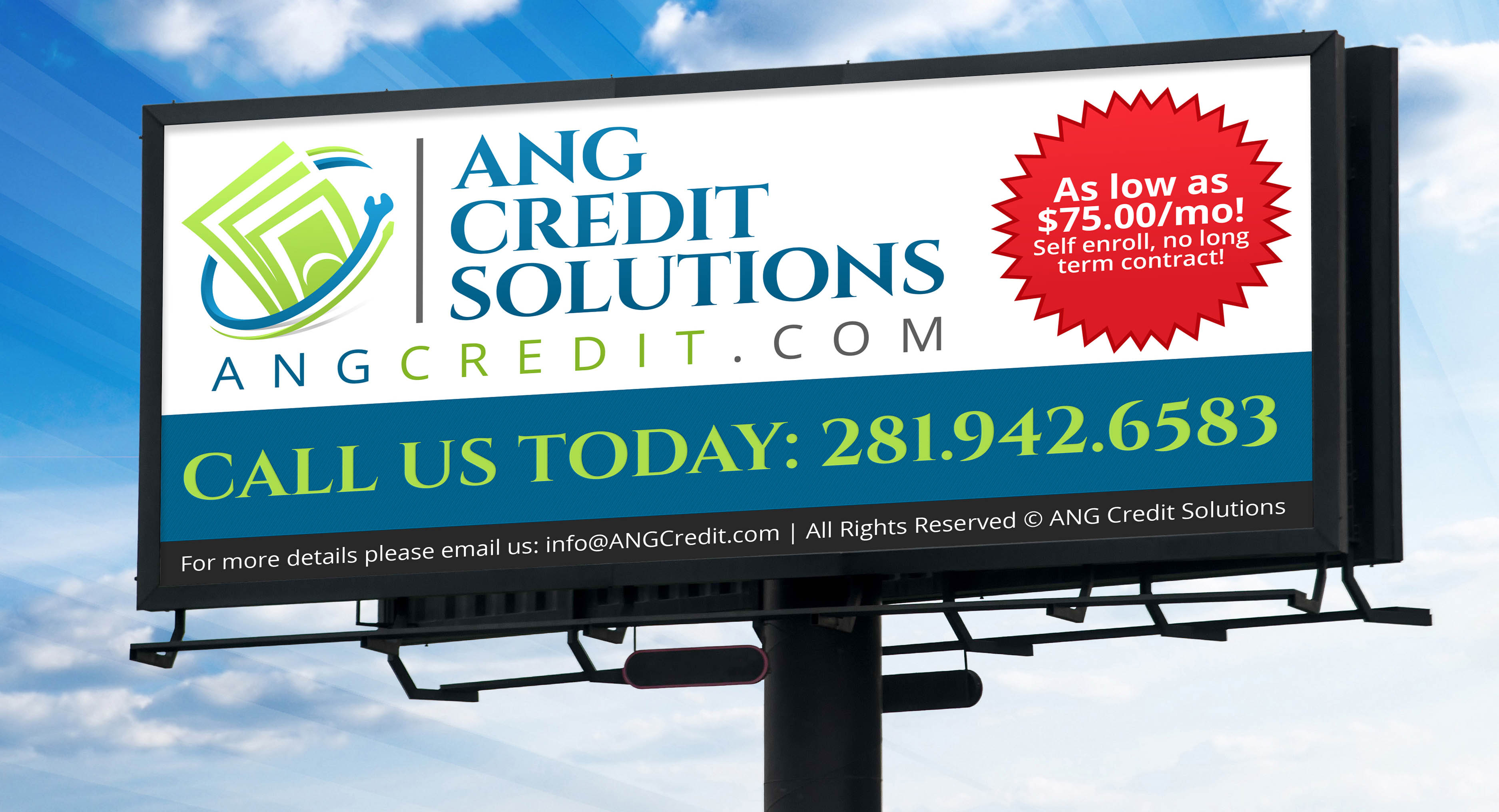 Credit Solutions Billboard